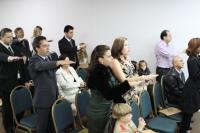 Entrega de Credenciais Ponta Grossa - 10/05/2011